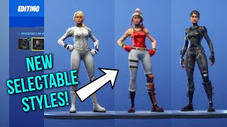 *NEW* FORTNITE FREE SELECTABLE STYLES FOR ELITE AGENT, WHITEOUT & SCARLET DEFENDER! REMOVABLE MASKS!