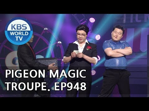 Pigeon Magic Troupe | 비둘기 마술단 [Gag Concert / 2018.05.19]