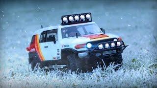 Ivan Stewart RC Toyota FJ Cruiser - Arctic Adventures | Tamiya CC-01