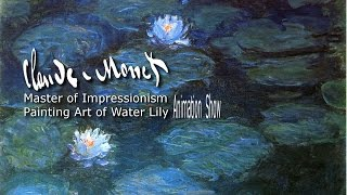 Monet 39 s Masterpiece water lily animation show