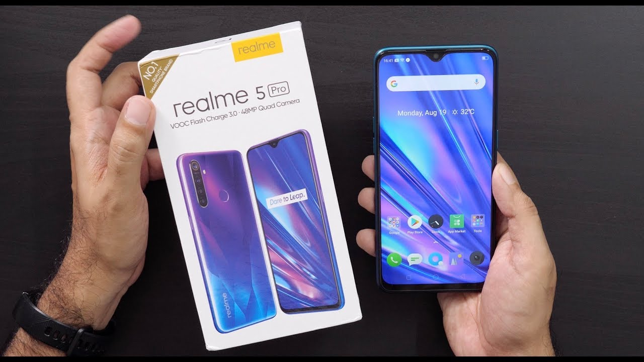 Realme 5 Pro with 48MP Quad Rear Camera Unboxing & Overview