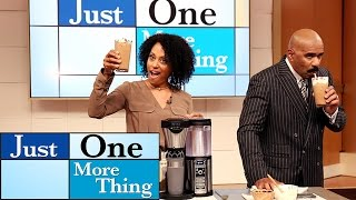 Ninja's Coffee Bar Perfect Summer Drink! || STEVE HARVEY