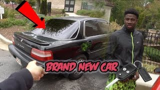 SURPRISING MY BEST FRIEND WITH HIS DREAM CAR ! *HE CRIED