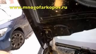 Амортизатор капота на Seat Leon KU-ST-LE12-00 (обзор,установка)