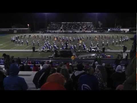 2012 Sapulpa High School Marching Band