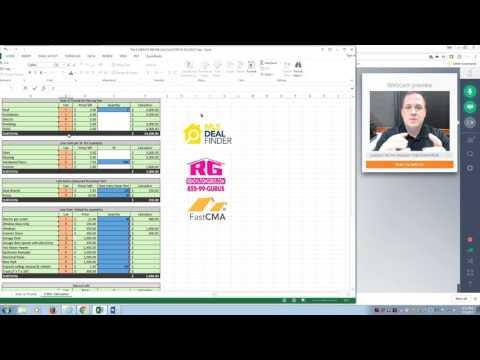 Rehab Budget Calculator V5