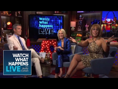 Would Gayle King Have A Fling with Jamie Foxx? | WWHL
