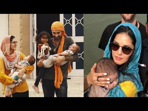 Sunny Leone visists Gurudwara Sahib with her family to seek blessings 😍