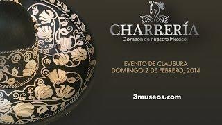Vestirse de charro es vestirse de México - Rueda de Prensa. Cierre de actividades de Charrería.