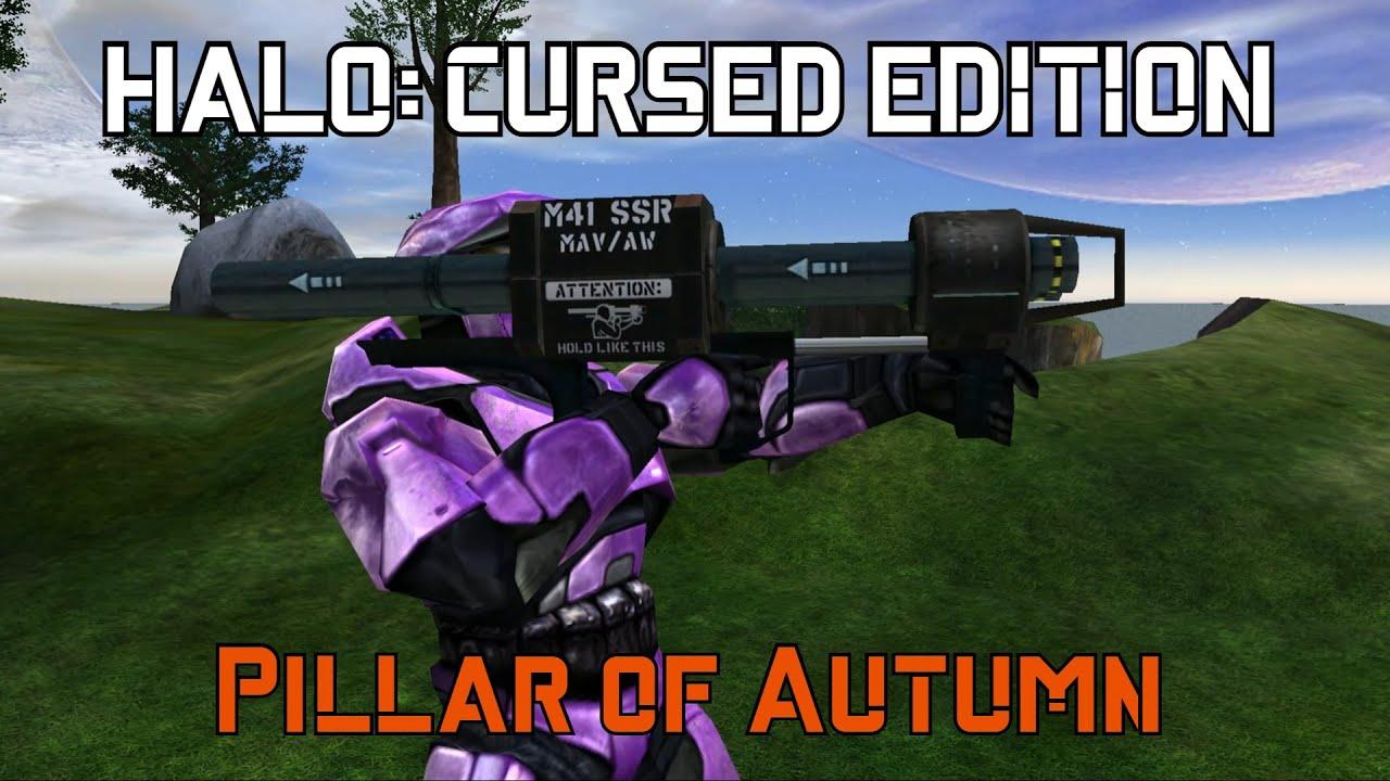 Halo Cursed Edition Pillar Of Autumn Youtube