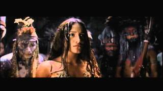 the new world--john smith saved by pocahontas