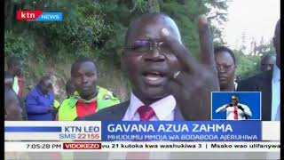 Gavana wa West Pokot akosana na maafisa wa polisi barabarani