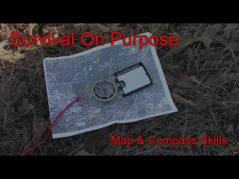 Using a Map and Compass on a Hike - Map and Compass Skills - Video 4