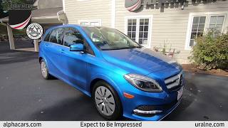 2014 Mercedes B250E, Overview, AlphaCars & Ural of New England