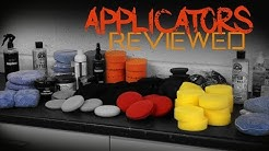 The Best Wax applicators - Foam and microfiber car applicators reviewed