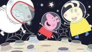 Peppa Pig Français 🌙 Le Voyage Sur La Lune 🌙 Dessin Animé