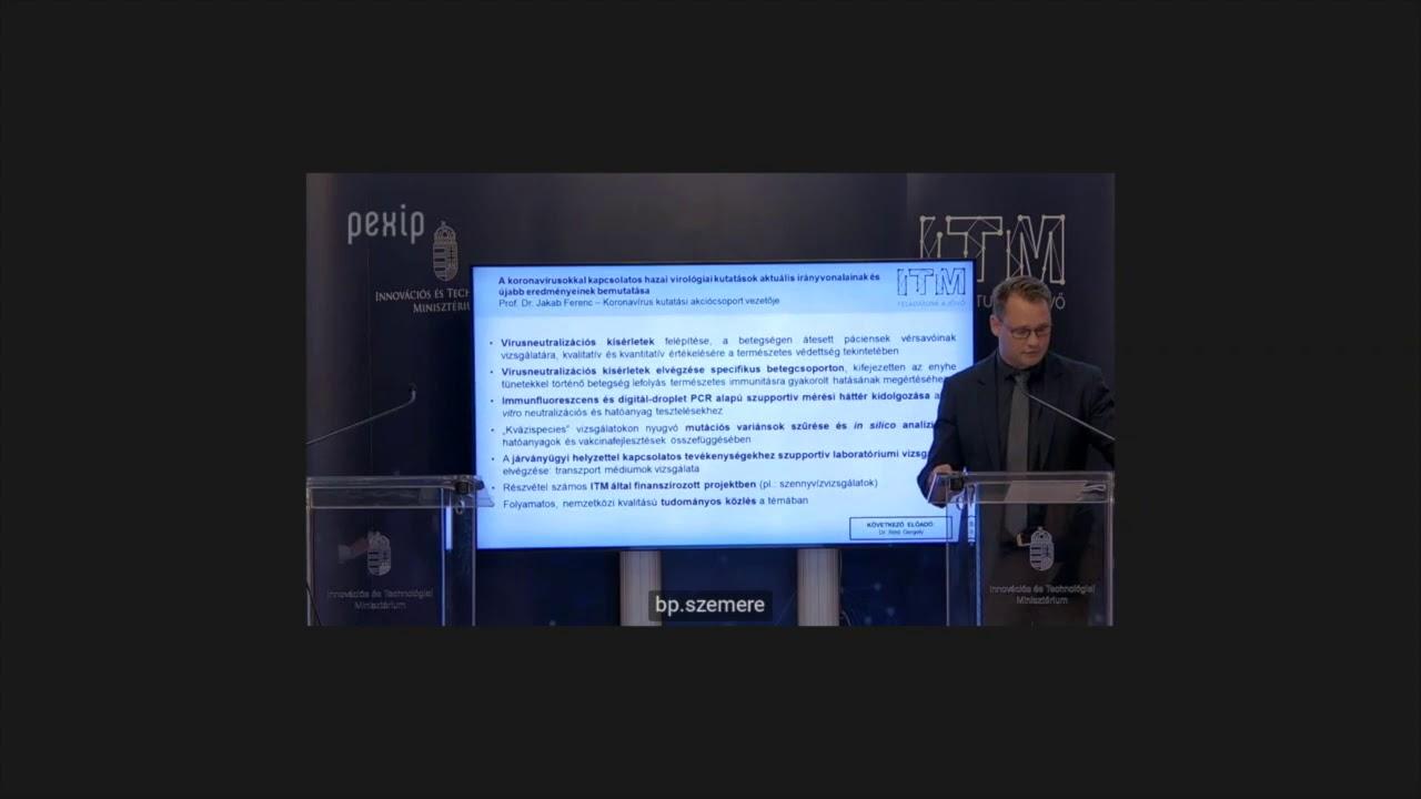 Prof. Dr. Jakab Ferenc előadása - ITM Fejlesztések ...