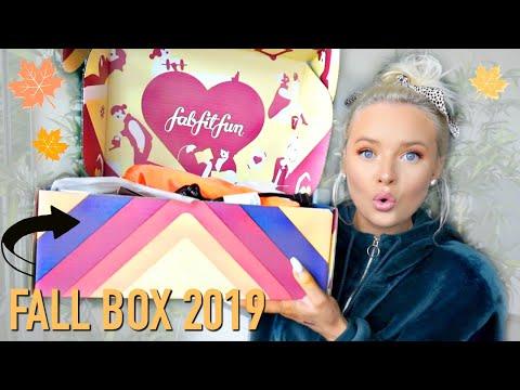 FabFitFun FALL UNBOXING 2019