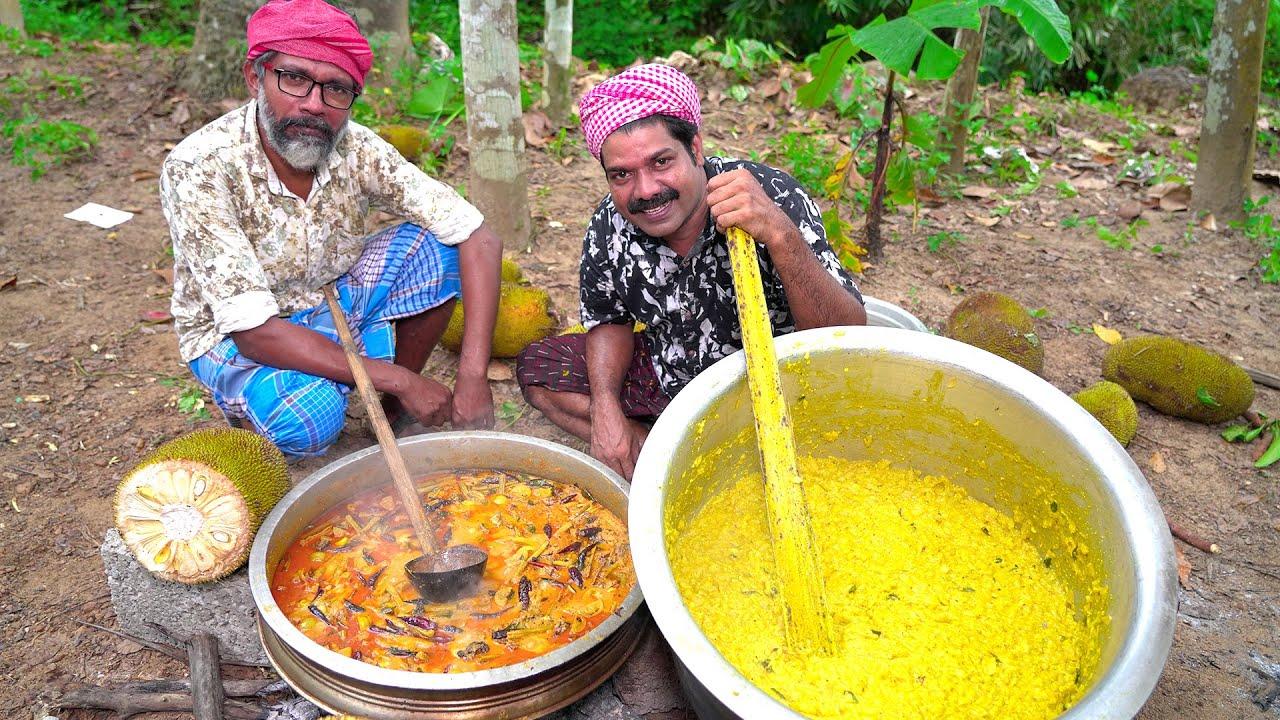 Download ചക്കപ്പുഴുക്കും ഉണക്കമീൻ കറിയും | Chakka Puzhukku With Unakka Meen Curry | Kishore Village Cooking