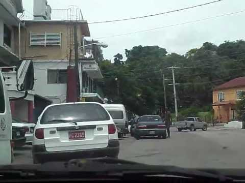 driving into Hopewell, Hanover, Jamaica