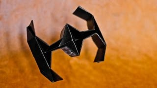 How To Make An Easy Origami Star Wars Tie Fighter - [[hd]]