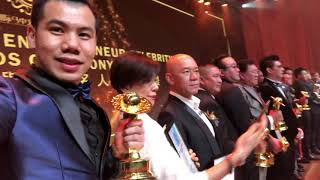 I did it! Malaysia Outstanding leasing Celebrities Award Evins Chew #ewinchew#realestate