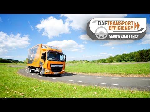 DAF Trucks UK | The DAF Transport Efficiency Driver Challenge - Part 2 | Millbrook Proving Grounds