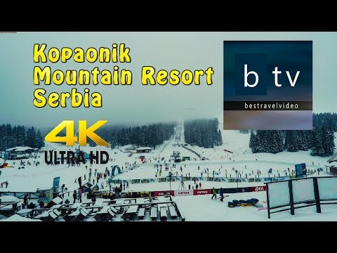 Kopaonik Копаоник Mountain Ski Resort, Serbia and Prokuplje in 4K.