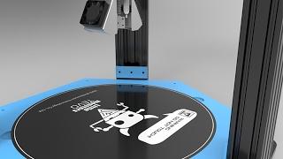 "Huge Delta 3D printer live build: TEVO's ""Little"" Monster!"