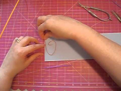 "Quilling:  Outlining and ""Writing"""
