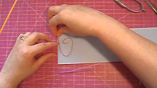 Quilling:  Outlining and