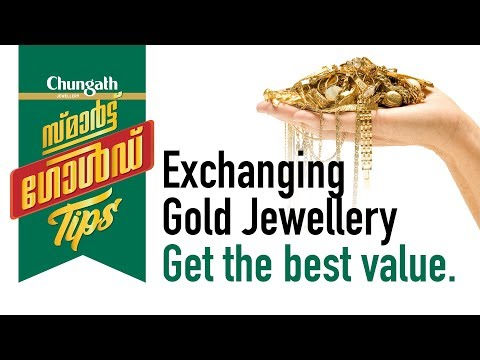 3. Exchanging Gold Jewellery - Get the best value