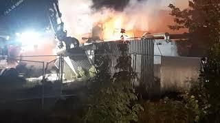 zeer grote brand Heerhugowaard 9 september 2020