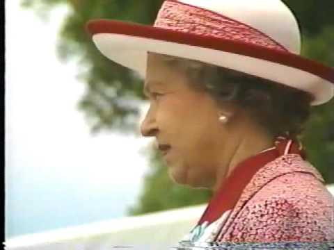 1994 Queen Elizabeth II visit to Grand Cayman