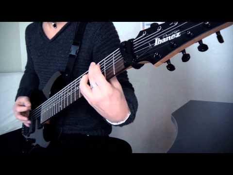 Jamyz (Lindhun) - 8 String Guitar Test (Ibanez RG2228)