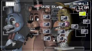 Warning:Dont play this game without a french fries Five Nights at Freddy