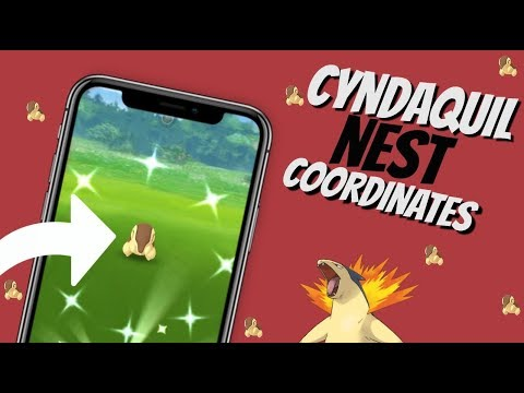 Best Shiny Cyndaquil Nest Coordinates in Pokemon GO | May 2019