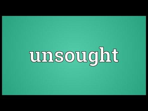 Header of unsought