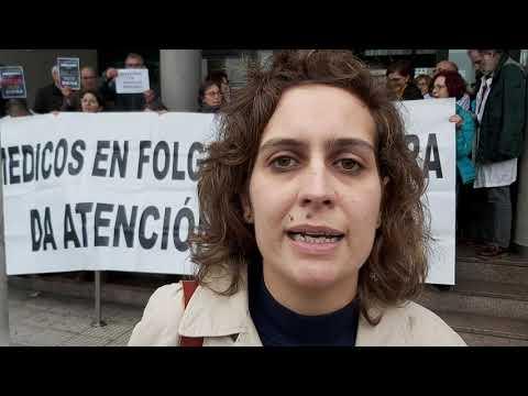 Avia Veira apoia a folga das médicas de atención primaria