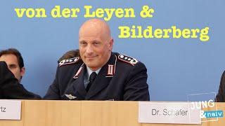 !Was macht Ursula von der Leyen bei der Bilderberg-Konferenz?