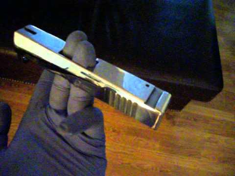 Beretta Nano Mirror Polished SlideGun Polishing Barrel Ryan Burick