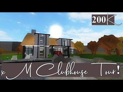 Roblox Bloxburg | xM Clubhouse Tour! | 200k