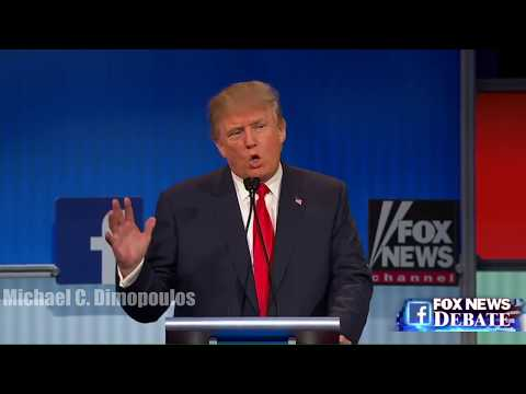 Donald Trump Republican Debate - Thug life - Illegal immigration