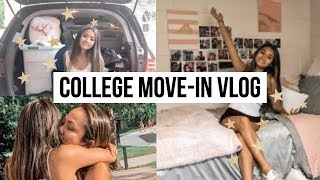 college move in vlog //✰james madison university ✰