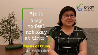 It's okay to feel not okay at times   Faces of O'Joy