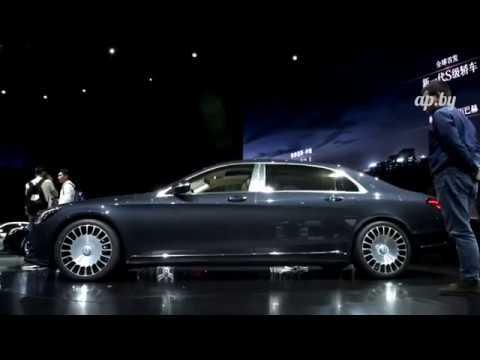 2018 Mercedes S-klass: Shanghai Motor Show  2017