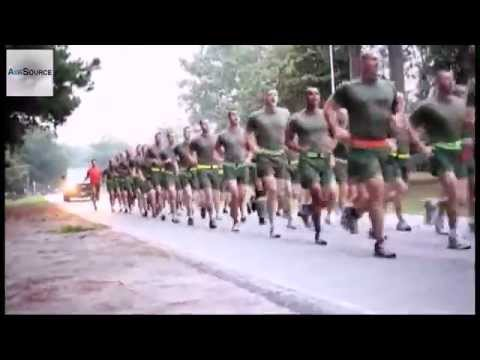 U.S. Marines Physical Training