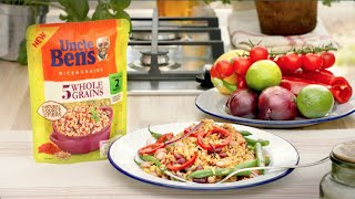 Uncle Ben's Five Wholegrain With Mixed Bean Salad