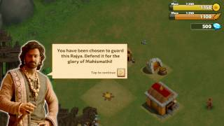 Bahubali : The game Official copied Clash of Clans | Exact ditto
