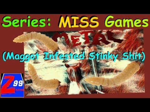 """Series: M.I.S.S. (Maggot Infested Stinky Shit) - #4 - """"METAL : Iron Age"""" for Only $25!?!!"""